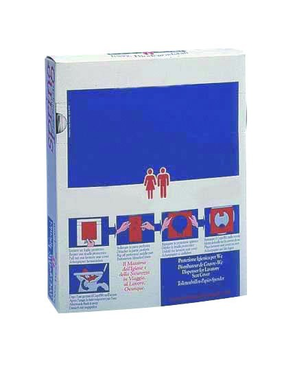 Sanipa WC bril afdekpapier voor de Toilet Seat Cover dispenser Sanipa van Rossignol Rossignol 99701