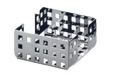 Italiaans design memoblokjes houder gemaakt uit gepolijst RvS Graepel G-Line G-line Pro K00016120