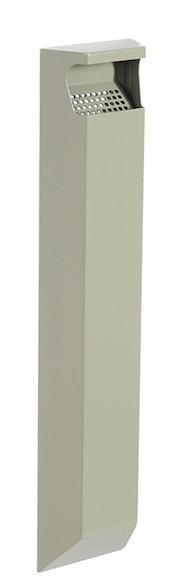 Arkea 3L asbak voor wandmontage gemaakt van staal met uv-coating van Rossignol Rossignol 56510,56513,56514,56146