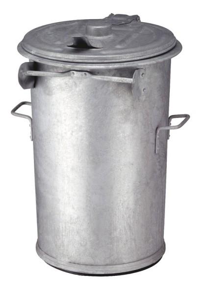 Staalverzinkte afvalbak 110 ltr 31005956
