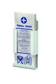 Hygi'nezakjesdispenser aluminium voor papieren zakjes van MediQo-line MediQo-line 8265,8270,8275