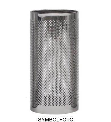 Paraplubak met wateropvang in italiaans design gemaakt uit zilver gelakt staal G-line Pro K00021199