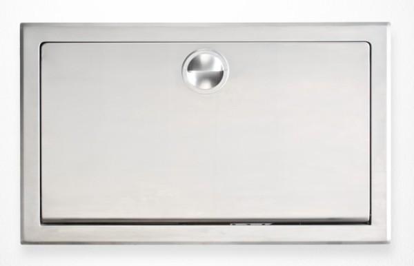 Horizontaal Inbouw MICROBAN¨ Technologie - Koala babystation RvS KB110-SSRE Koala Kare Products KB110-SSRE,KB110-SSRE