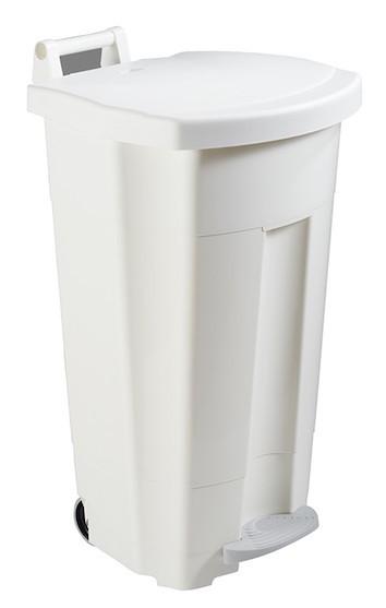 Mobiele Boogy mobile vuilnisbak 90L van polyethyleen van Rossignol Rossignol 56700,56701,56702,56703,56705