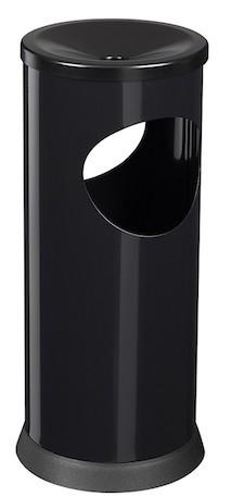 Kipso asbak/vuilnisbak 0,25L/17,5L met zwarte plastic sokkel van Rossignol Rossignol 58945,58948