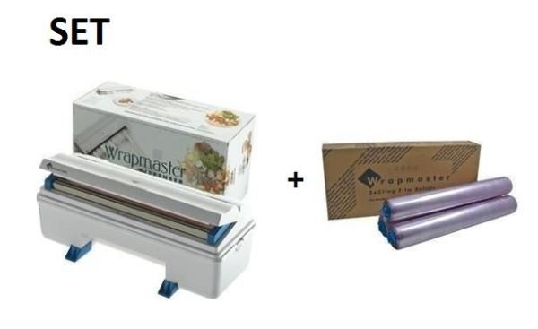 SET Effici'nte Wrapmaster 3000 dispenser en Wrapmaster 3000 vershoudfolie Wrapmaster 63M90,18C14