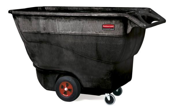 Tilt Truck 0,8 m3, Rubbermaid zwart