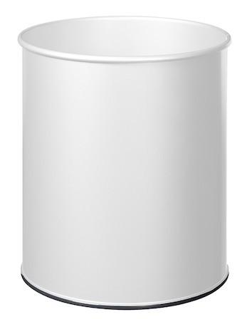 Trash papier 30L met grijprand en met plastic basis van Rossignol Rossignol 59802,58999,59803,59798,59799,59806,59848,59849,59850,59851