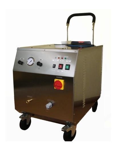 CIMEL Vapor.Net professional steam cleaner in stainless steel with 9 or 18kW Cimel-turbolava Leistung:9000 Watt VAPOR.NET 9000,VAPOR.NET 18000