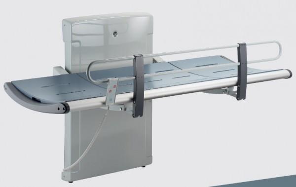 Pressalit douchebrancard 3000 met elektrische motor - 1300mm of 1800mm lengte Pressalit R8533,R8538