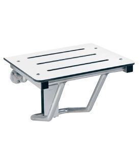 B-5191 solid phenolic folding shower/dressing area seat for surface mounting Bobrick B-5191