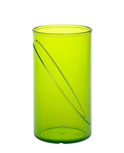 Plastic water glass 0,25l SAN reusable