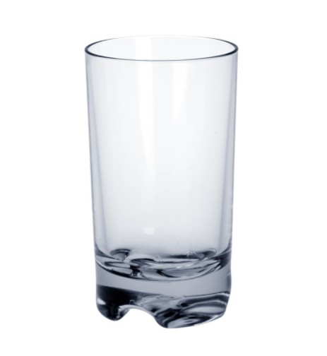 Plastic Cocktailglas SAN ca. 0,3l zonder vulling merk robuuste voedselkluis Schorm GmbH 9072