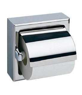 Bobrick Surface-Mounted Toilet Tissue Dispenser with Hood Bobrick