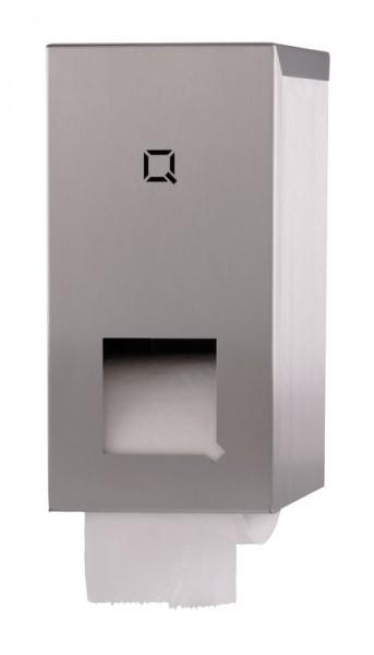 Qbic-Line toiletpapierdispenser voor 2 kokerloze rollen Qbic-line 7260