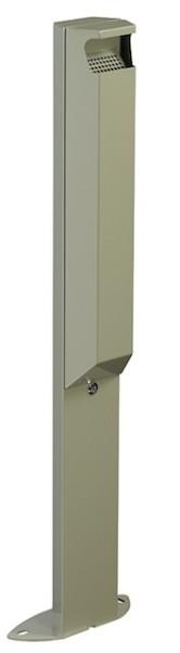 Arkea 3L staande asbak met slot gemaakt van staal met uv-coating van Rossignol Rossignol 56515,56518,56519,56147