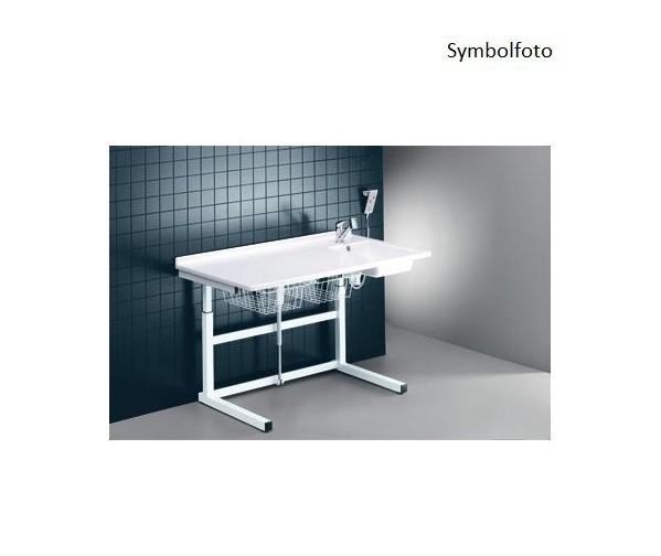 Pressalit witte verschoontafel met sanitaire voorzieningen 800 x 1800 mm met motor Pressalit R8753