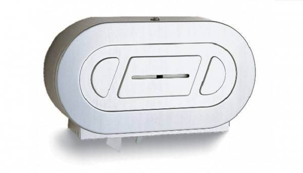 Bobrick roestvrij staal toiletpapier dispenser voor extra grote rollen B-2892 Bobrick B-2892