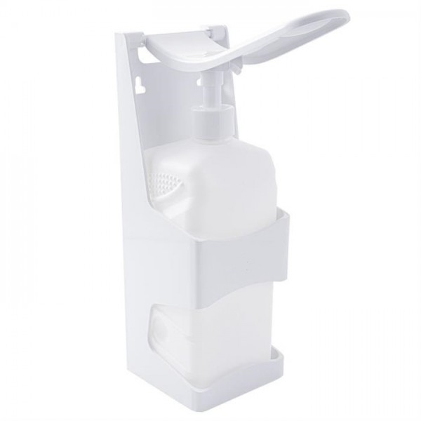 Desinfectiemiddeldispenser Navulbaar voor desinfectiemiddel, met handmatige hendelbediening