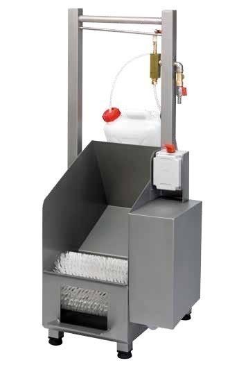 Schoen CLEANER Machine, voor het wassen en ontsmetten van schoenen Gamar SC