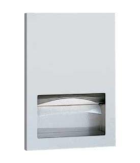 BOBRICK B-35903 inbouw papieren handdoek dispenser in mat RVS voor de horeca Bobrick B-35903