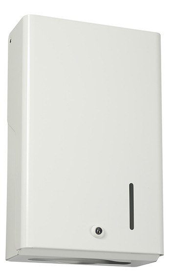 Rossignol Blanka handdoekjes dispenser met kijkvenster voor consumptie controle Rossignol 53045