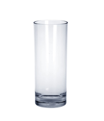 SET 6 stuks Bar glas exclusief 0,25L kristal helder van hoogwaardig kunststof - Schorm GmbH 9070
