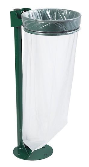 Afvalzak houder staand, 110L staal met UV-bestendige poedercoating van Rossignol Rossignol 57319,5685