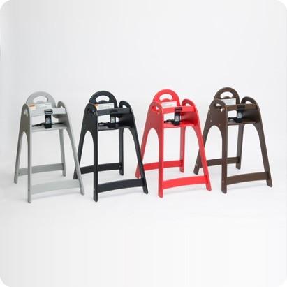 KB105 Koala hoge kinderstoel design - HDPE hoogwaardig kunstof - stapelbaar Koala Kare Products KB105-01KD-INB,KB105-02KD-INB,KB105-09KD-INB,KB105-03KD-INB