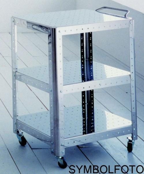Graepel G-Line Pro Quadra XL - Edelstahl polierte StŠnder fŸr Regalsysteme G-line Pro 89401,89411,89421