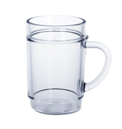 Set 20 Stuks Spritzer glazen 0,25l SAN kristal helder van hoogwaardig kunststof - Schorm GmbH 9014