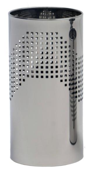 Graepel G-Line Quadrotto paraplubak- gemaakt van gepolijst roestvrij staal, geperforeerd G-line Pro K00016680