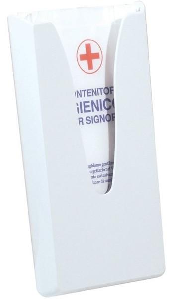 Damesverbanden dispenser MP688 gemaakt van kunststoff voor wandmontage Marplast S.p.A. A68800,A68800
