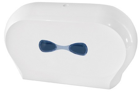 Marplast dubbele toilet papier dispenser wit gemaakt van kunststof MP773 Marplast S.p.A. 773