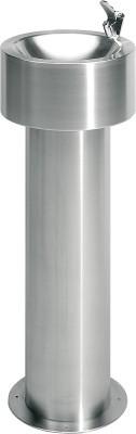 Franke drinkfontein ANMX302 gemaakt van chroomnikkelstaal voor vrijstaande Franke GmbH ANMX302