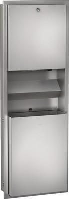 Franke dispenser combinatie gemaakt van roestvrij staal voor wandinbouw Franke GmbH RODX617E