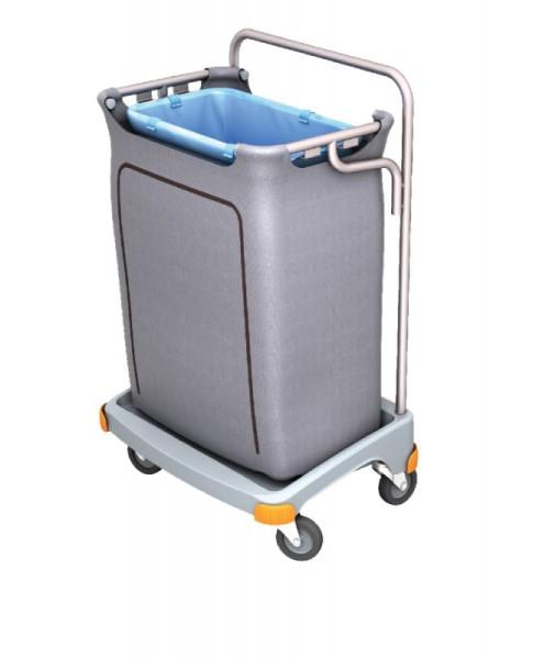 Splast enkel afval trolley 120l met betrekking tot - deksel is optioneel Splast TSO-000,TSO-0004