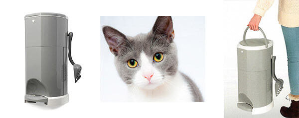 Janibell Mülleimer für Katzenstreu