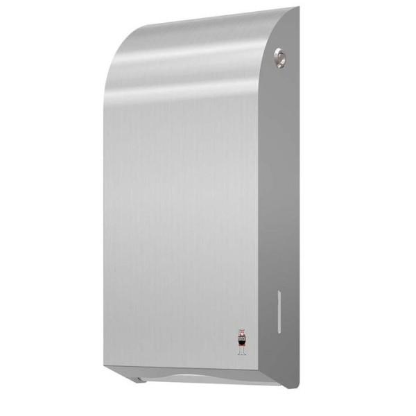 Dan Dryer Design RVS handdoek dispenser voor 400 papieren handdoekjes Dan Dryer A/S 286