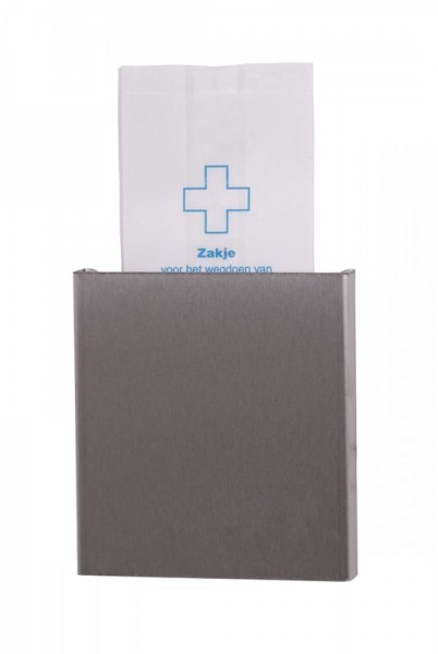 Dutch-Bins Sanitaire zak dispenser voor papieren zakken Dutch-bins 13061,1306