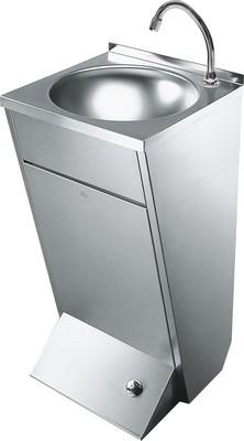 Hochwertiges Waschbecken gefertigt aus rubustem Edelstahl