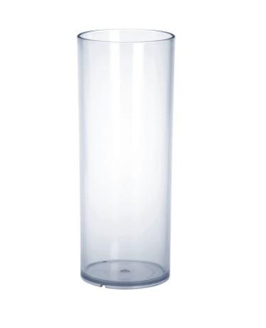 Set 20 stuks 0,25l PC hoogwaardig kunststof kristal helder longdrink glazen - Schorm GmbH 9066