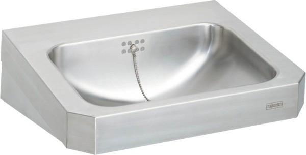 Franke wastafel WT500C gemaakt van roestvrijstaal voor wandmontage met zeef Franke GmbH Variante:Ohne Armaturenbohrungen WT500C,WT500C-M