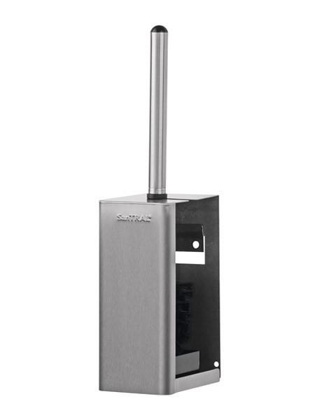 Toiletborstelhouder van RVS met muurbeugel Ophardt Hygiene SanTRAL WBU 3 - 1414689,141469