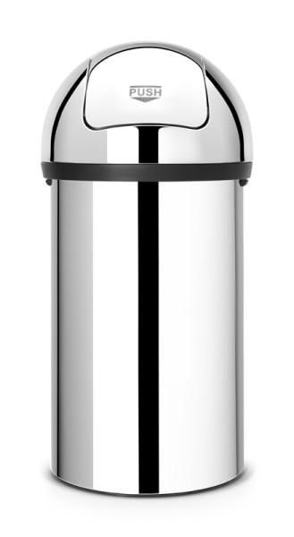 Brabantia Push Bin gemaakt van roestvrijstaal en kunststof 60 liter Brabantia 55402623