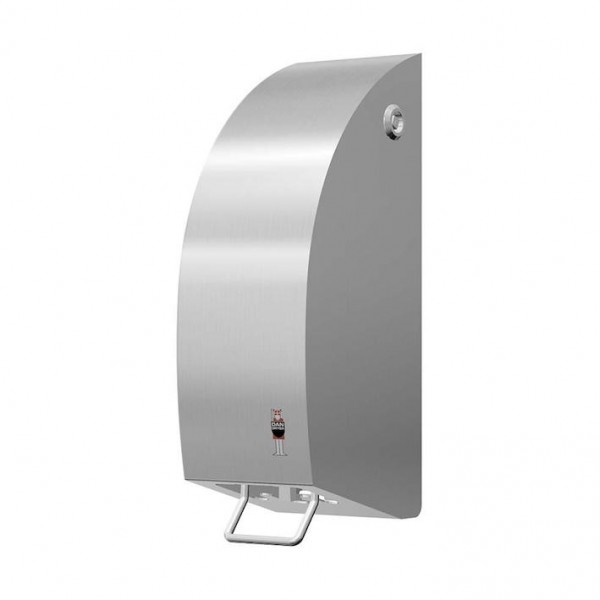 Dispenser 1,2L made of brushed stainless steel available in 3 different types Dan Dryer A/S 296,297,298