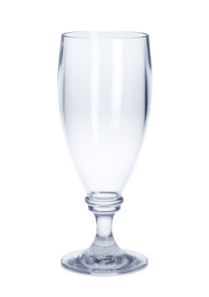 SET 6 stuks Dolce Vita Glas 0,3L kristalhelder, hoogwaardig en herbruikbaar kunststof- vaatwasser bestendig - Schorm GmbH 9077