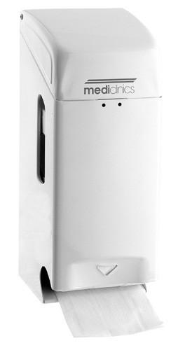 Mediclinics afsluitbare wc-papier dispenser Mediclinics 13214,13211,13218