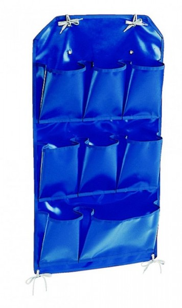"""IPC Euromop blue pvc holder with 8 pockets suitable for """"X"""" trolley IPC Euromop PORT00002"""