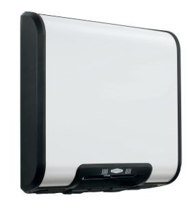 Bobrick B-7120 surface mounted handdryer with white coated steel cover 230V Bobrick B-7120